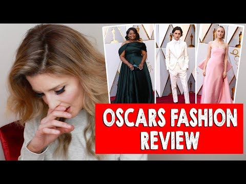 Download Youtube: OSCARS FASHION REVIEW 2018 // Grace Helbig