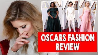 OSCARS FASHION REVIEW 2018 // Grace Helbig