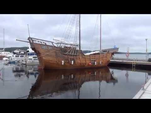 Pirate Ship at Kuopio Pirttiniemi harbor