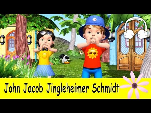John Jacob Jingleheimer Schmidt | Family Sing Along - Muffin Songs