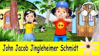 john jacob jingleheimer schmidt   family sing along muffin songs