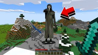 How to Find GIANT SCP-049 in Minecraft... (SCP Survival)