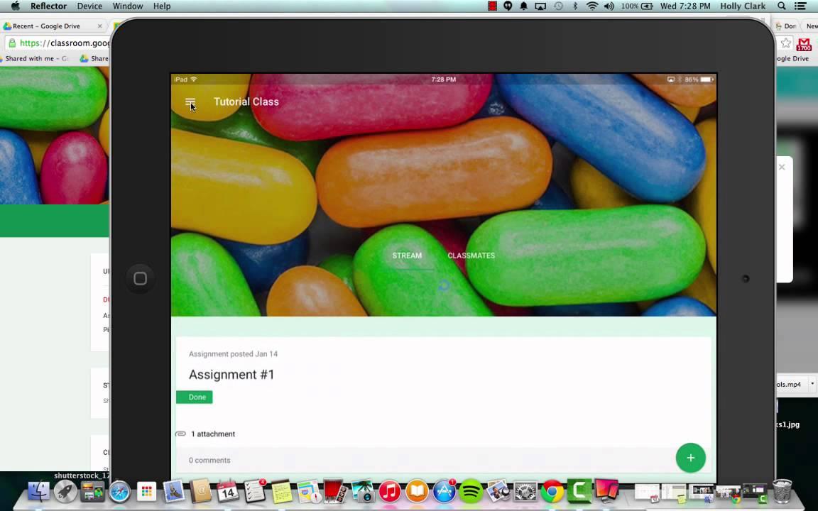 A Quick Look at The New Google Classroom iPad App