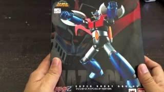 Unboxing Super Robot Chogokin Mazinger Z (Iron Cutter Edition)