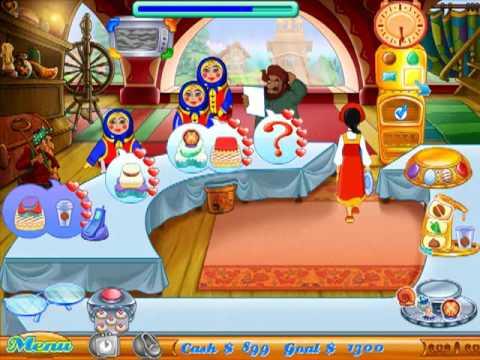 Cake Mania games - Help Jill run bakeries on Zylom