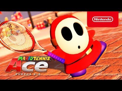 7dc74942c5 Floro Piraña y Shy Guy muestran sus habilidades en el nuevo tráiler de  Mario Tennis Aces