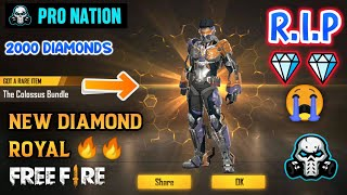 FREEFIRE NEW DIAMOND ROYAL - THE COLOSSUS BUNDLE
