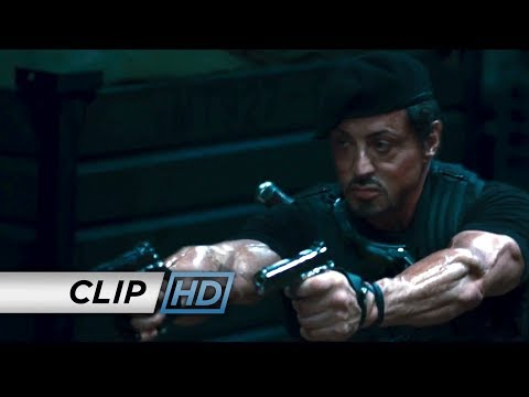 The Expendables (2010) - 'Boat Gunfight'