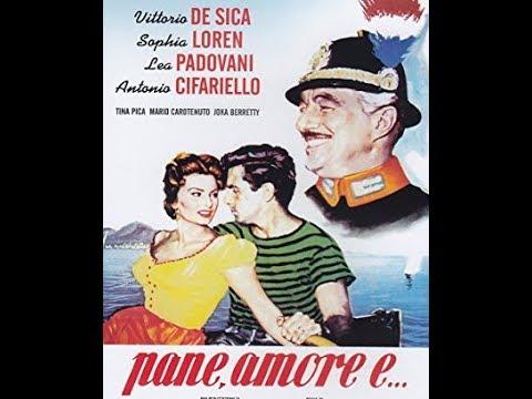 Download 1955. Sophia Loren, Vittorio De Sica - Pane, amore e.....