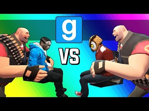 Thumbnail: Gmod Hockey: Vanoss Vs. Delirious! (Garry's Mod Sandbox Funny Moments)