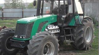 Трактор Бизон-Форсаж. Обучение.(Дизайн трактора Бизон. Самодельный трактор Бизон-Форсаж., 2016-02-09T20:26:38.000Z)