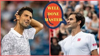 103 - Djokovic vs Federer - Final Cincinnati 2018 - Extended