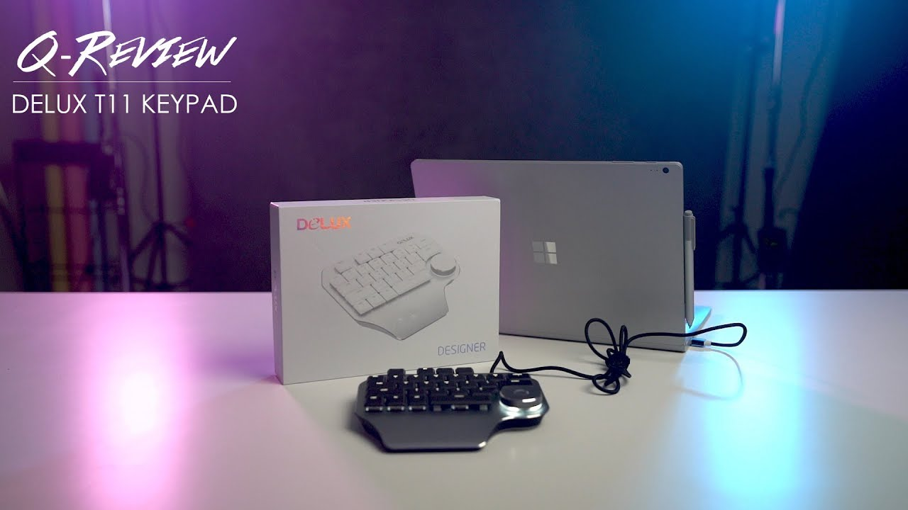 Make Your Retouching Process Easier With This Delux Designer T11 Keypad Youtube