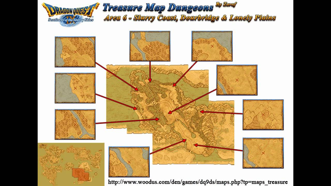 Dragon Quest IX Every Grotto Location
