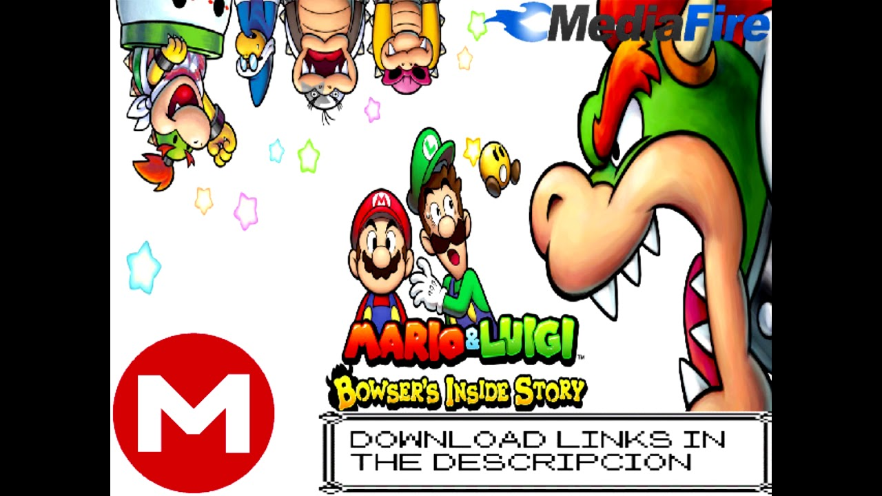 Download Mario Luigi Bowser Inside Story Bowser Jr Journey