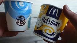 NEU! KitKat Eis von Burger King - TEST & Review - King Fusion