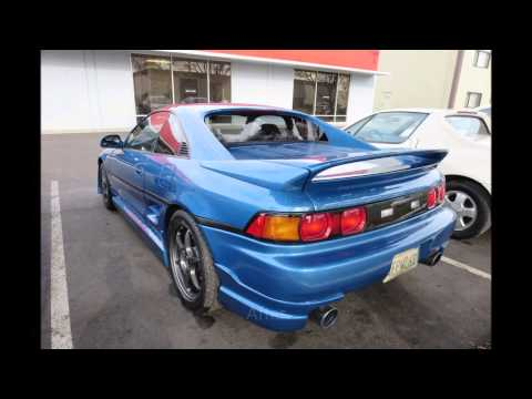 1991 Toyota MR2 Painted and Customized by Almost-Everything!