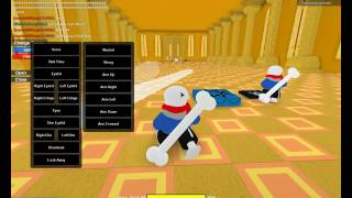 Sans VS Chara Fight | Roblox