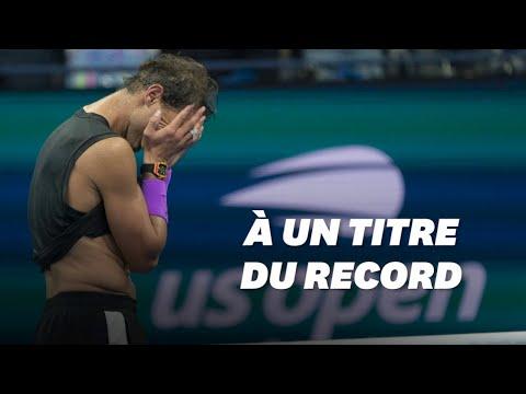 Les larmes de Rafael Nadal, ovationné par le public de l'US Open pour son 19e Grand Chelem