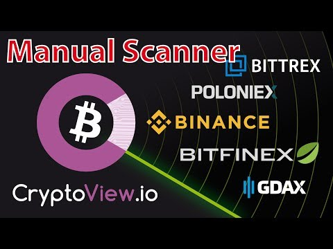 Crypto Manual Scanner : Quickly find trading opportunities on Binance