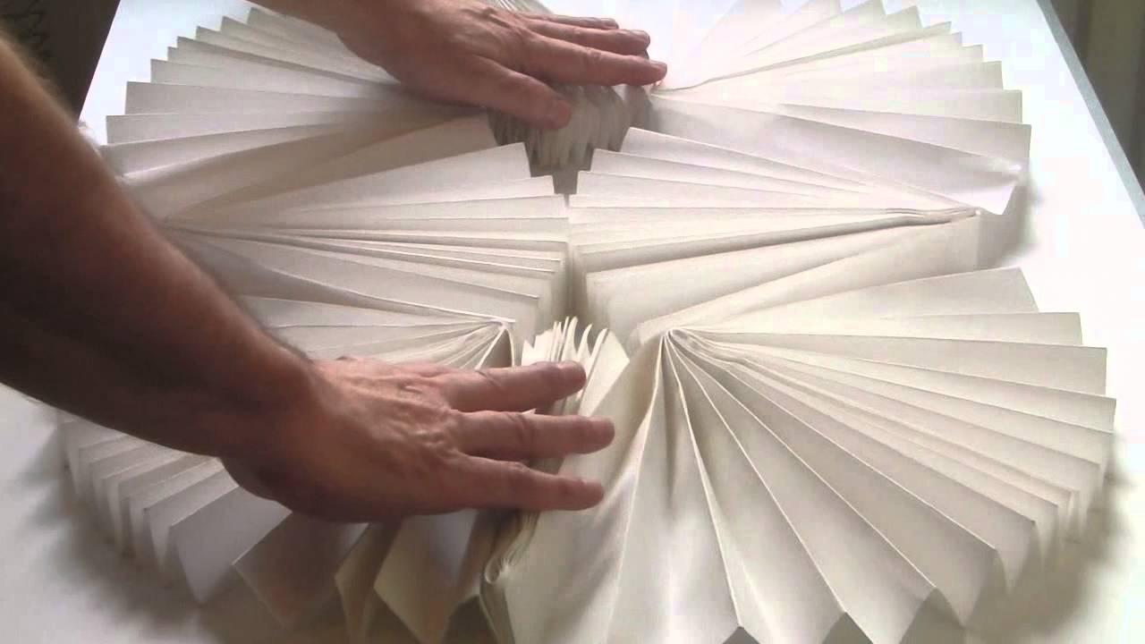 the larder kinetic paper sculpture
