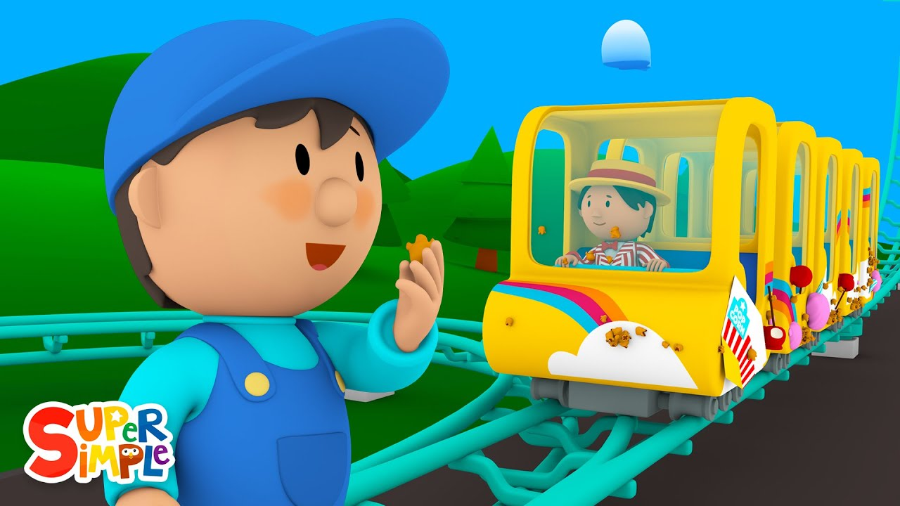 Rodney's Roller Coaster is Covered In Treats! | Carl's Car Wash