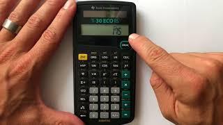 V2movie Runden Mit Dem Taschenrechner Ti 30 Eco Mathematik