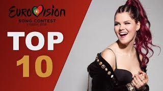 Top 10 Vocalists | Eurovision 2018