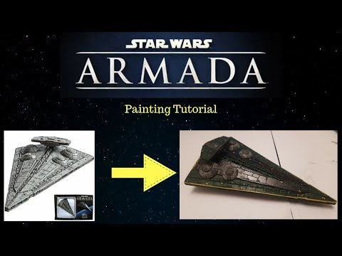 How to Paint StarWars Armada ships