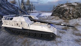 WoT Object 263 (skin BY LIDVOKS) 9321 DMG 2001 exp 11 frags - Arctic Region