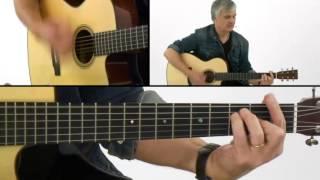 Guitaristics: Rhythm Guitar Lesson - #24 Rock Ballad 16ths Breakdown - Laurence Juber
