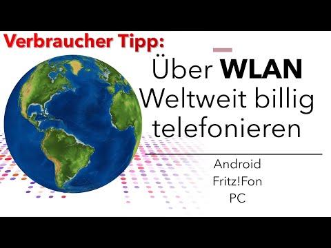 Telefonieren Im WLAN Und Internet: Billige Anrufe Vom Festnetz Ins Mobilfunknetz Und Die Ganze Welt!