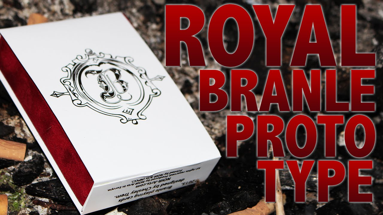 Deck Review Royal Branle Prototype Playing Cards Hd