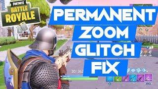 Zoom permanente Glitch FIX - Fortnite Battle Royale