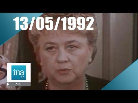 19/20  FR3 du 13 mai 1992 - Jacqueline Maillan est morte | Archive INA