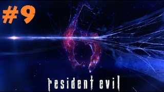 Resident Evil 6 Gameplay / Walkthrough: We're on the Zombie Bus! (Part 9)