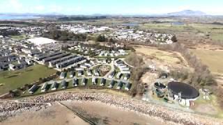 GoPro Karma drone at Haven Hafan y mor Pwllheli holliday site