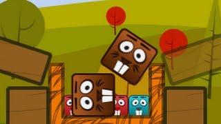 Beaver Blocks Level Pack Level1-28 Walkthrough