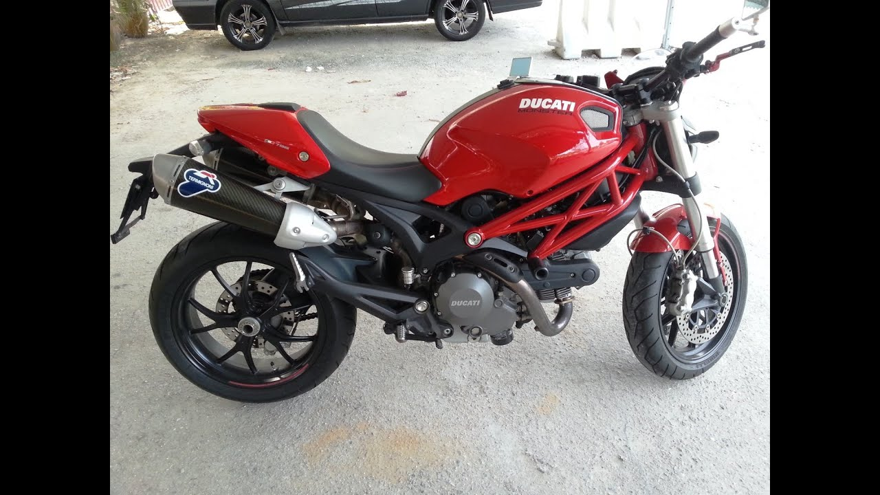 Ducati Monster 796 With Termignoni Carbon & Rizoma ...