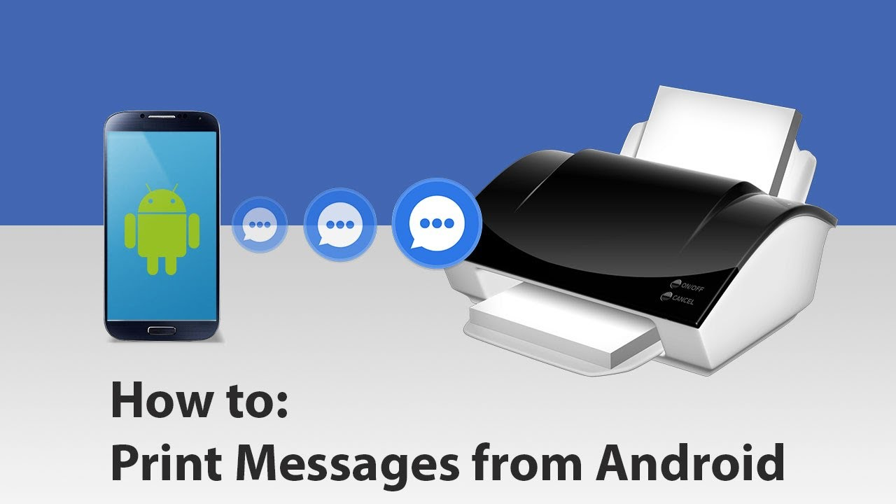 How to Print SMS Conversations on your Android Phone