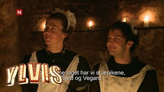 Ylvis cleaning up after drunken party in total darkness (Eng subs)
