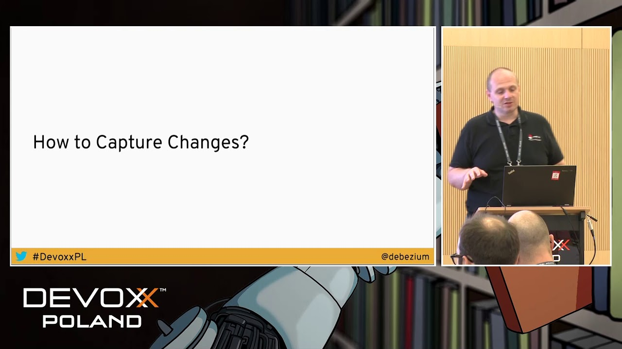 Streaming Database Changes with Debezium - Jiri Pechanec