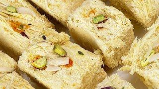 Multi Layered Indian Dessert | Making of Soan Papdi | my3streetfood