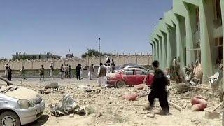 إصابة 70 شخصا في هجوم إنتحاري في أفغانستان   26-5-2015