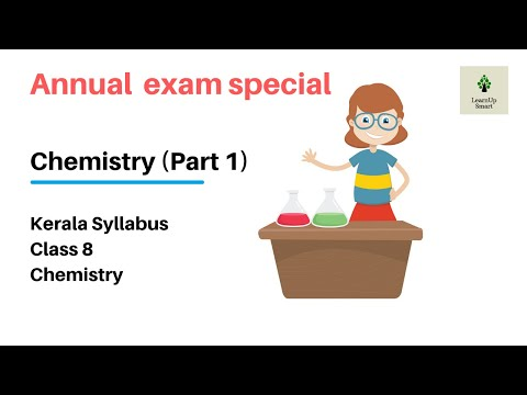 ANNUAL EXAM SPECIAL | CLASS 8 | CHEMISTRY | PART 1
