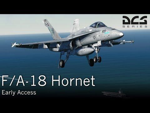 F/A-18 Hornet - DCS - Preview (FR)