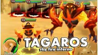 SUMMONERS WAR : Tagaros the Fire Inferno (gameplay spotlight)