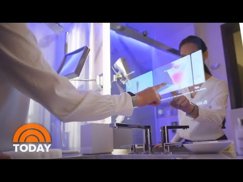 Tour The High-Tech Hotel Of The Future | TODAY
