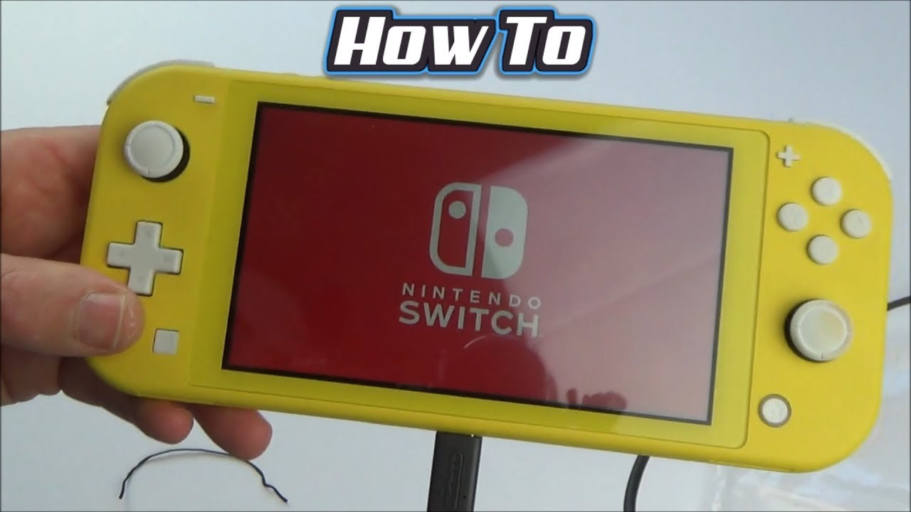 How to Setup the Nintendo Switch Lite for Beginners