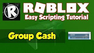 Roblox | How to make a Group Cash System | 2019 [FE]